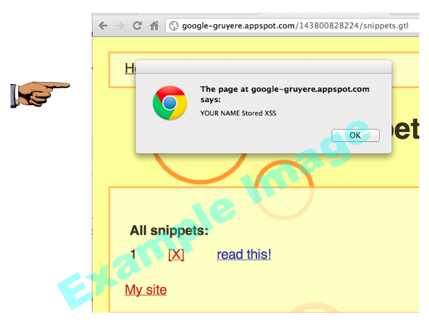 Project 2x: XSS with Google Gruyere (15 pts )
