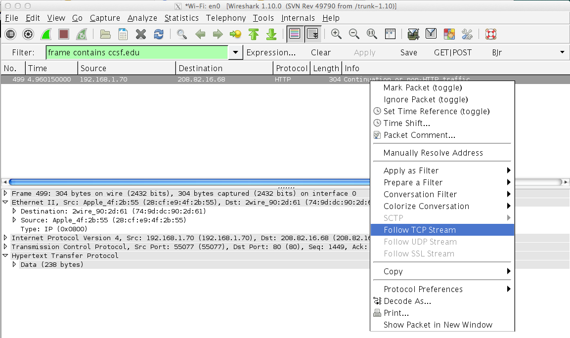 Project 3: Sniffing for Passwords with Wireshark (10 Points)