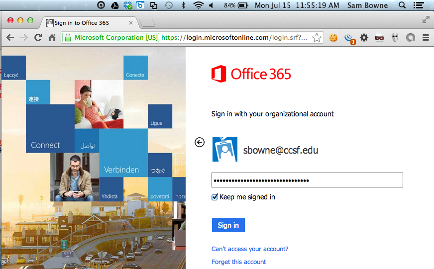Cookie Re-Use in Office 365 and Other Web Services