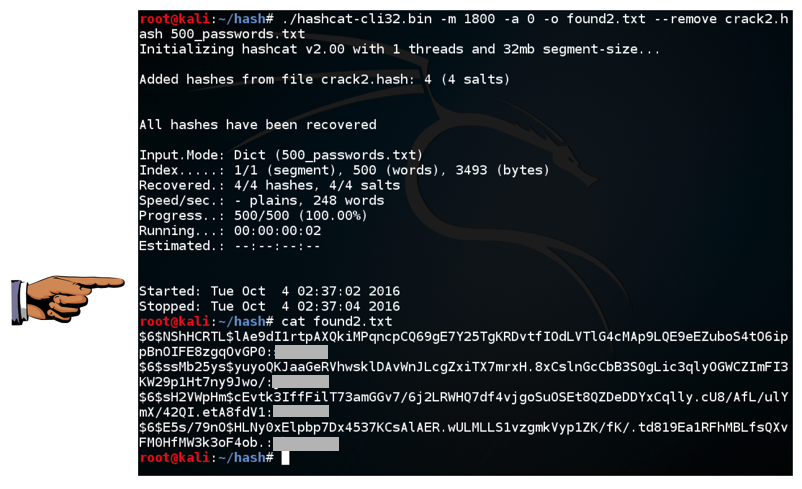 Project 12: Cracking Linux Password Hashes with Hashcat (15
