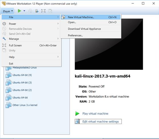 Proj 16: Windows 2016 Server Virtual Machine (15 pts)