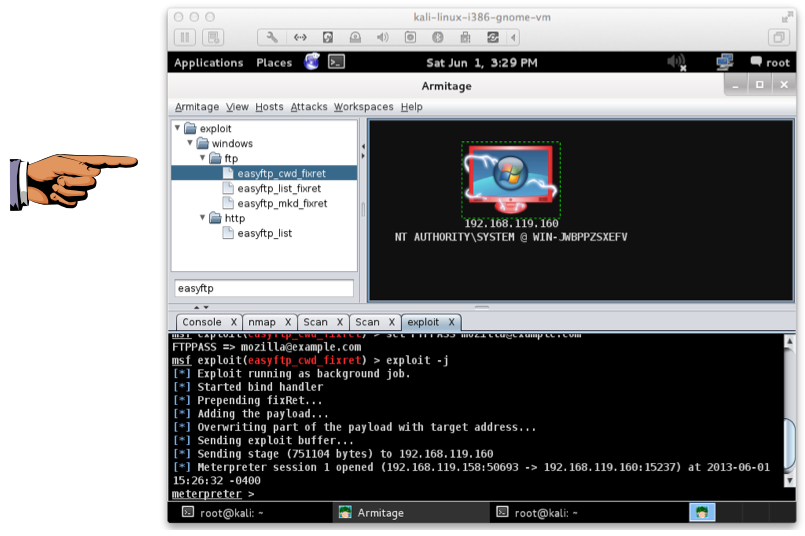 Project 2: Taking Control of a Server with Metasploit and