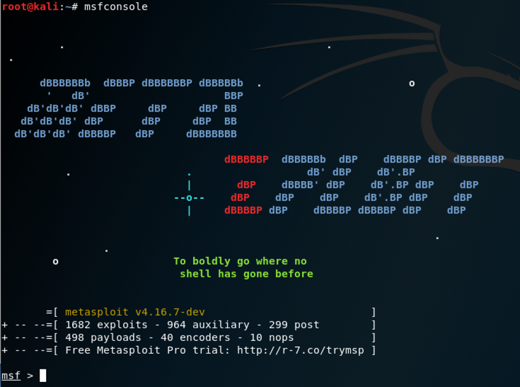 4: Creating Infectious Media with Metasploit (15 pts )