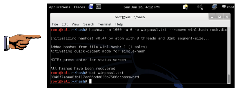 Project X16: Cracking Windows Password Hashes with Hashcat