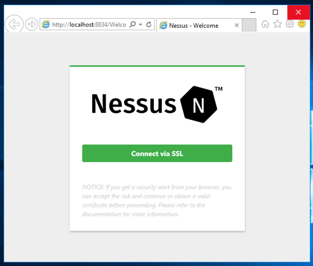 Project 18: Nessus (15 pts + 15 pts extra)