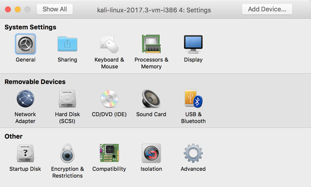 VMware Tools in Kali 2017 3