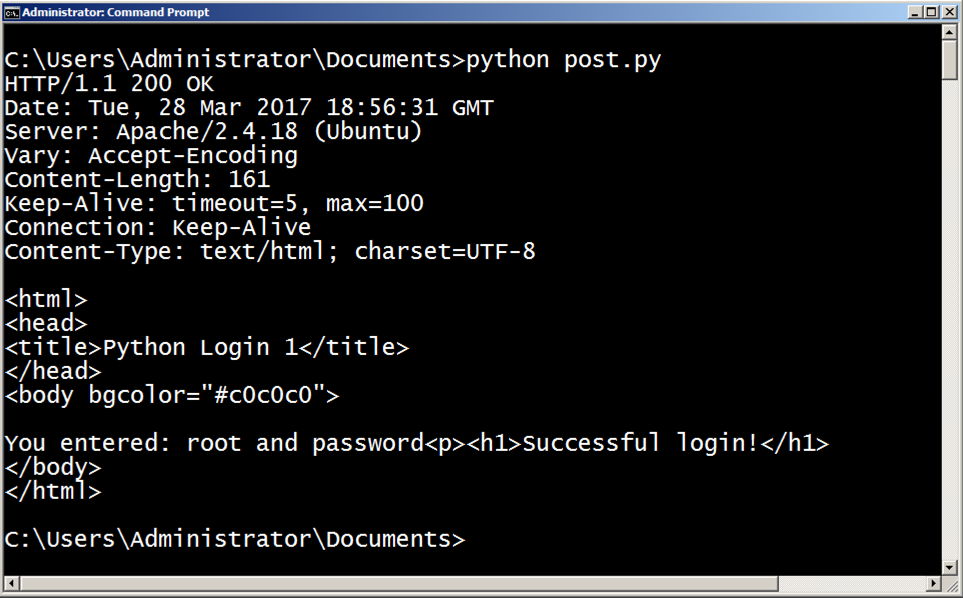 HTTP Hacking with Python