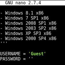 Proj 15x: ETERNALROMANCE v  Windows Server 2008 (15 pts