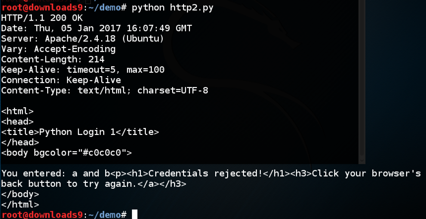 Proj 2: HTTP Requests with Python (15 pts )
