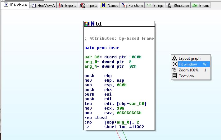 126 Proj 2: Reverse Engineering with IDA Pro Freeware (10-40