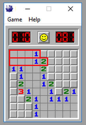 3  Hacking Minesweeper with Immunity (40 pts)