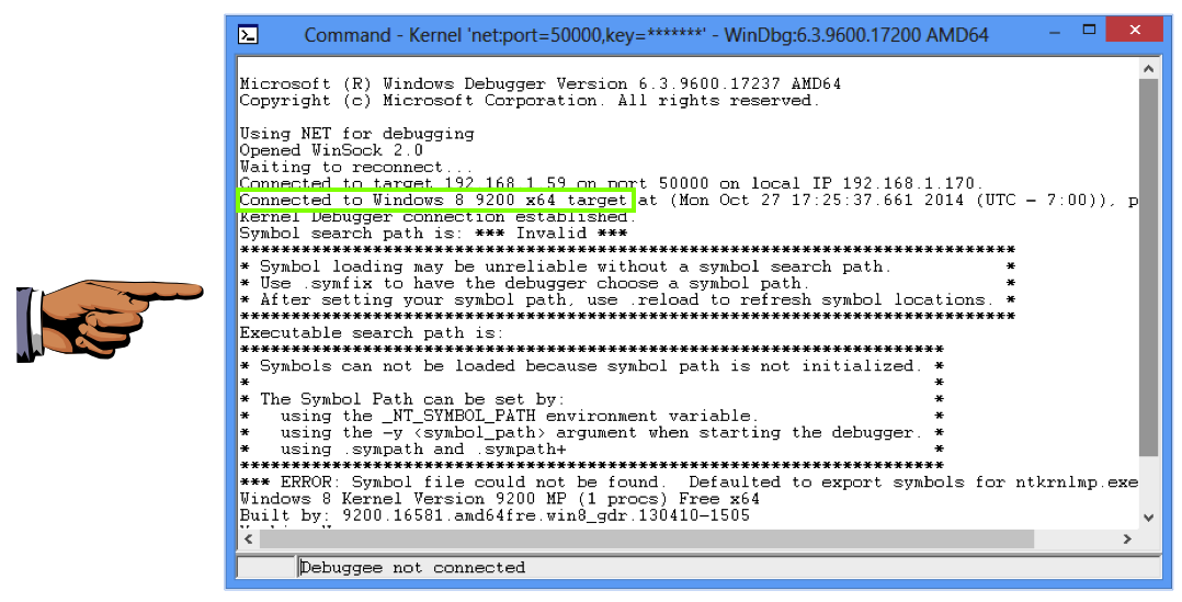 Project 11x: Kernel Debugging with WinDbg over Ethernet with
