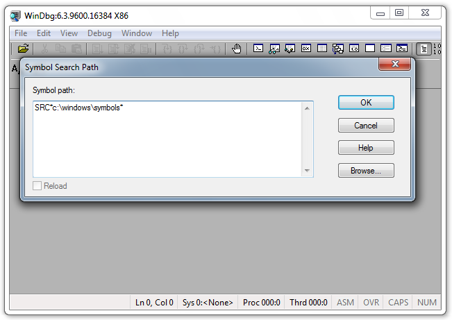 Project 12: Kernel Debugging with WinDbg (PC version) (20 pts )