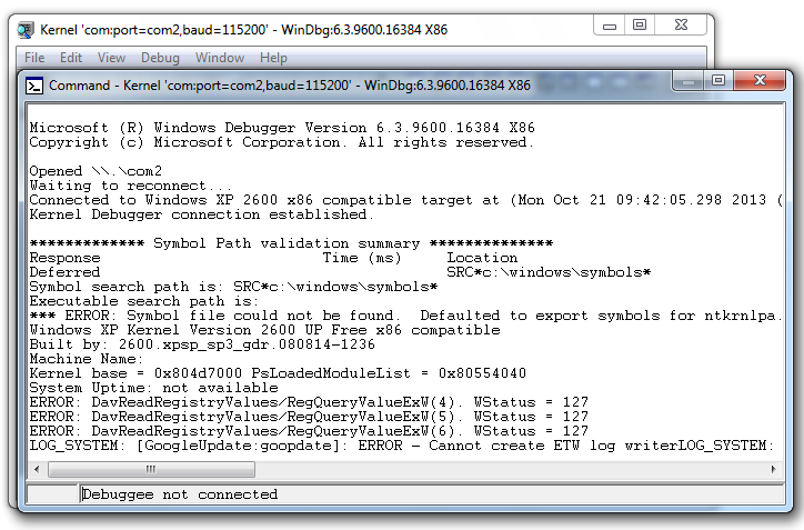 Project 13: Using Kernel Debugging Commands with WinDbg (15