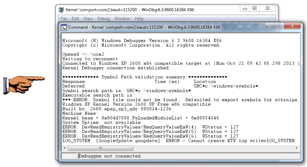 Project 12 Kernel Debugging With Windbg Pc Version 20 Pts