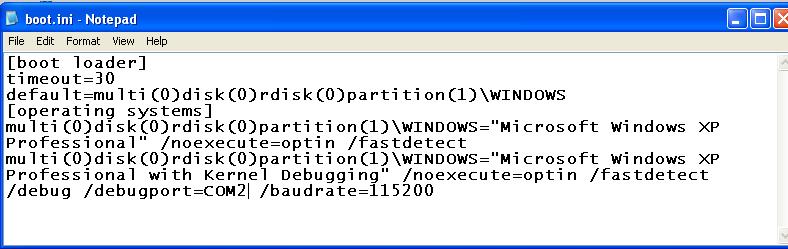 Project 12: Kernel Debugging with WinDbg (Mac version) (20 pts )
