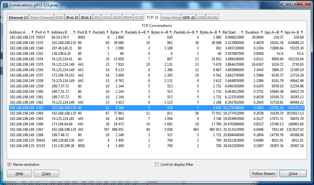 Proj 3x: Harvesting Files from Packet Captures with Wireshark (10 pts )