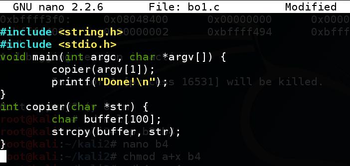 Proj 3: Linux Buffer Overflow With Shellcode (20 pts )