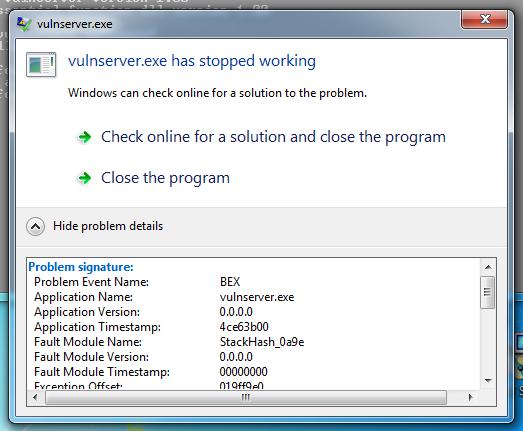 Windows Server 2012 Buffer Overflow Defenses and EMET