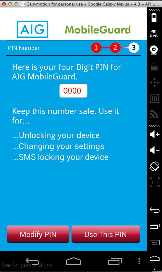 AIG MobileGuard Android App Vulnerabilities