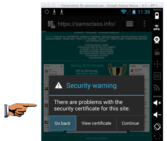 SSL Certificate Validation Problem Fixed in