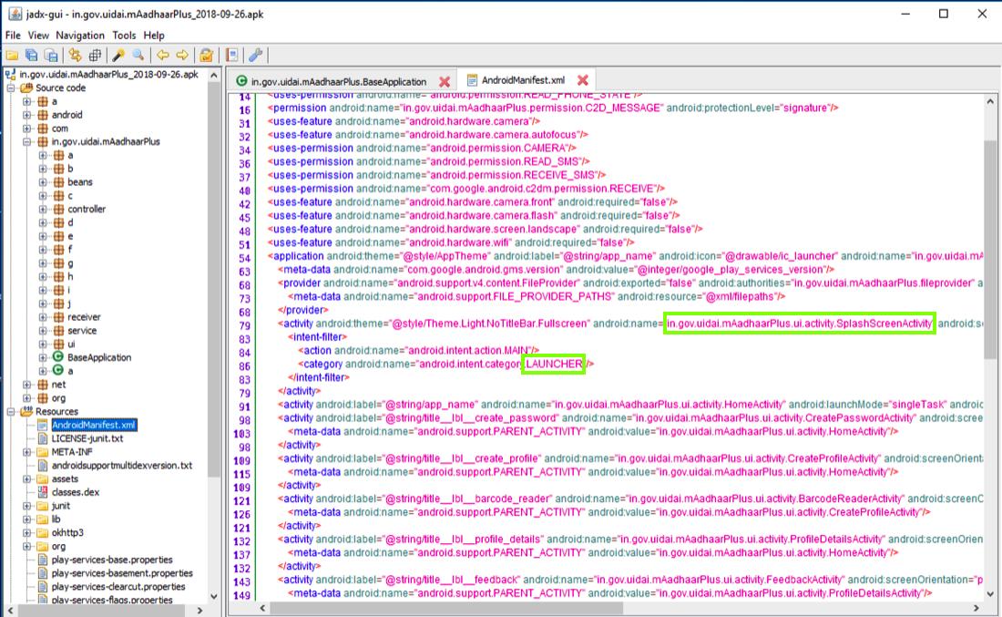 Proj 14: mAadhaar Code Modification (20 pts)