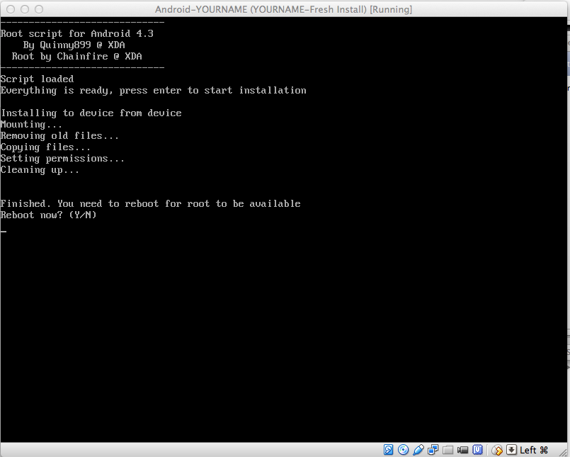 Project 2: Rooting Your Android Virtual Machine (10 pts )