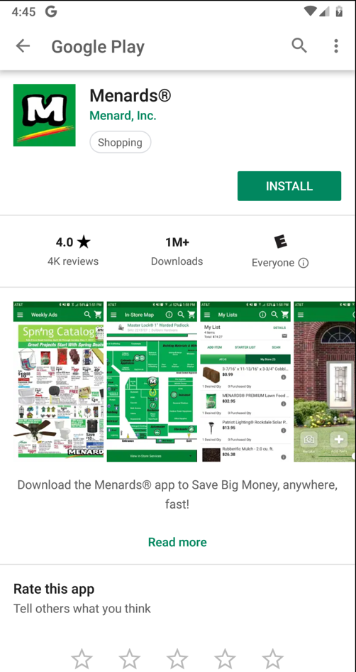 Proj 8: Menards Plaintext Password Storage (15 pts)