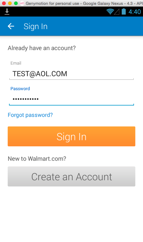 Auto-Trojaning the Walmart App