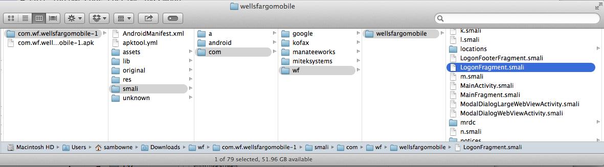 Wells Fargo Android App Vulnerability