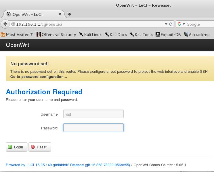 OpenWrt in VMware Fusion