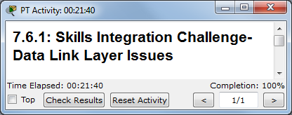 Packet Tracer Skills Integration Challenge Lab The Cisco | Free