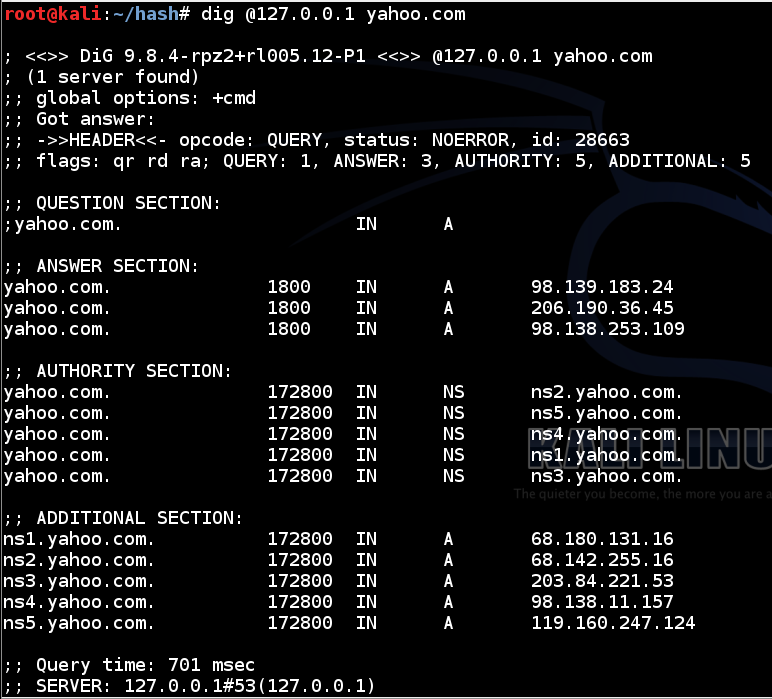 CNIT 40 Proj 6: DNS Logging On Linux With Bind (15 Pts