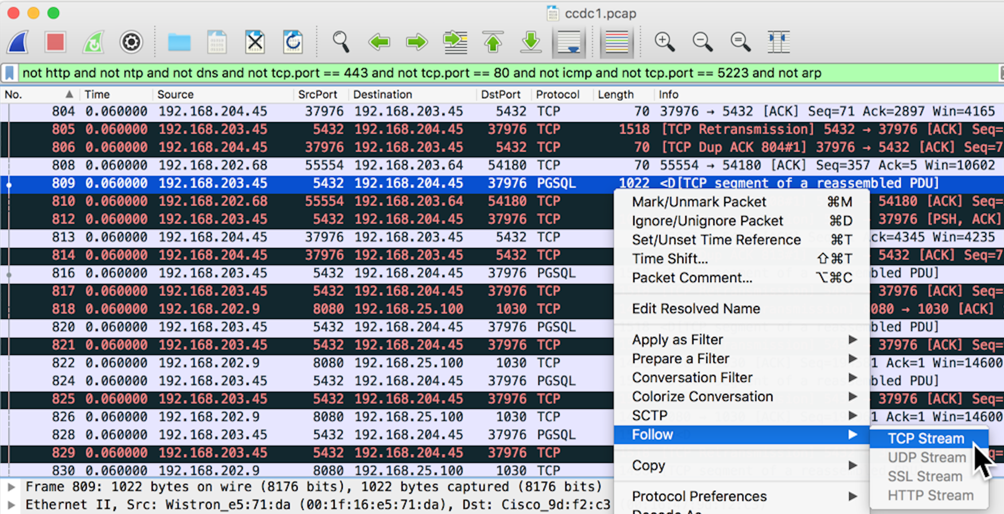 Project 2: Wireshark (15 pts  + 20 pts  extra credit)