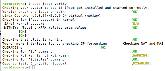 Project 9x for CNIT 120: Setting Up an IPSec L2TP VPN server
