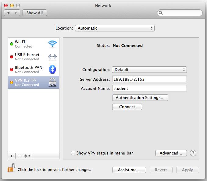 Set-up PPTP virtual private network (VPN) server on Ubuntu Linux