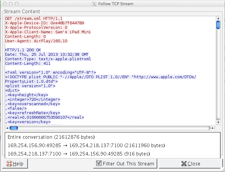 AirPlay and IPv6