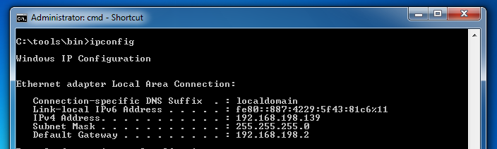 Project Win-2 IPv6 Ping Scan with Windows (10 pts )