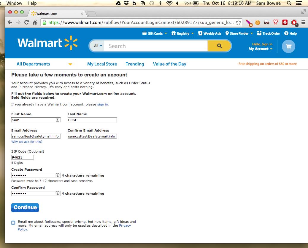 Apr 2014 2014 10 16 walmart limits passwords to 12 characters fandeluxe Images