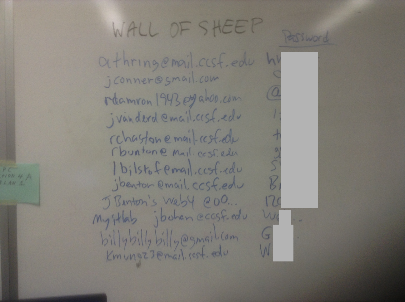 2015 11 18 Wall of Sheep in the hacking